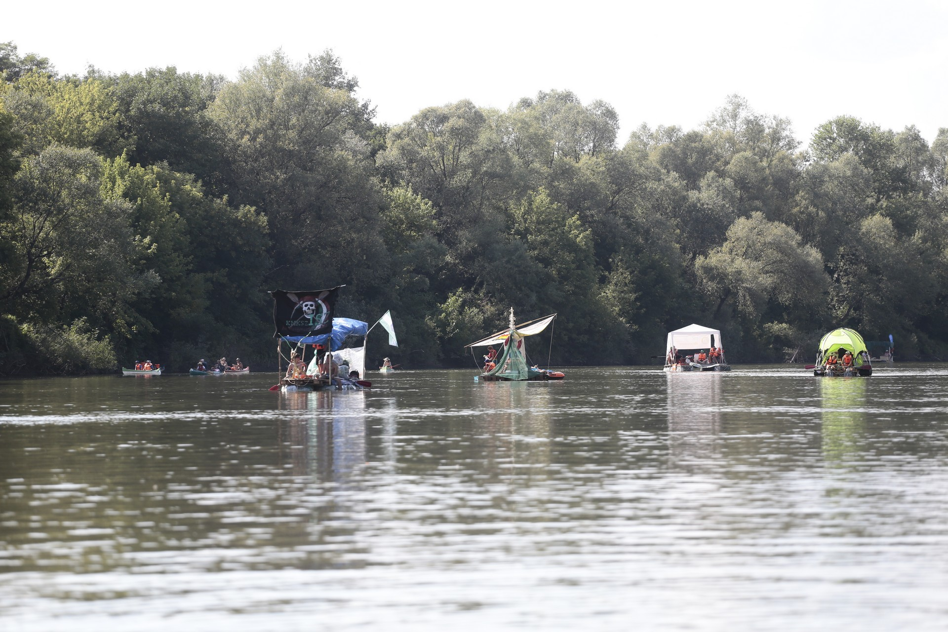 7TH PLASTIC CUP ON THE TISZA RIVER