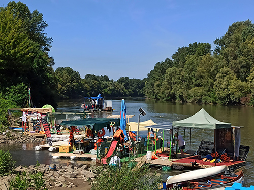 ANOTHER 6 TONNES OF WASTE REMOVED FROM UPPER TISZA