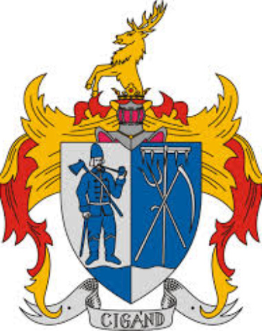 Cigánd Város logo